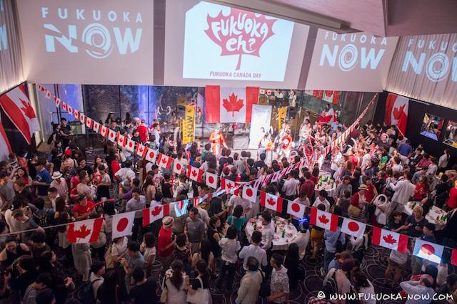 Fukuoka Canada Day Jul 2016 001
